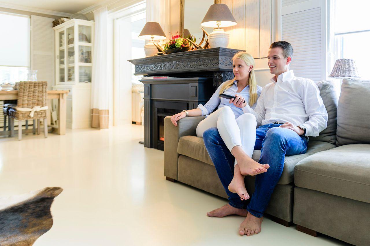ComfortFloor - podlaha do obývacího pokoje