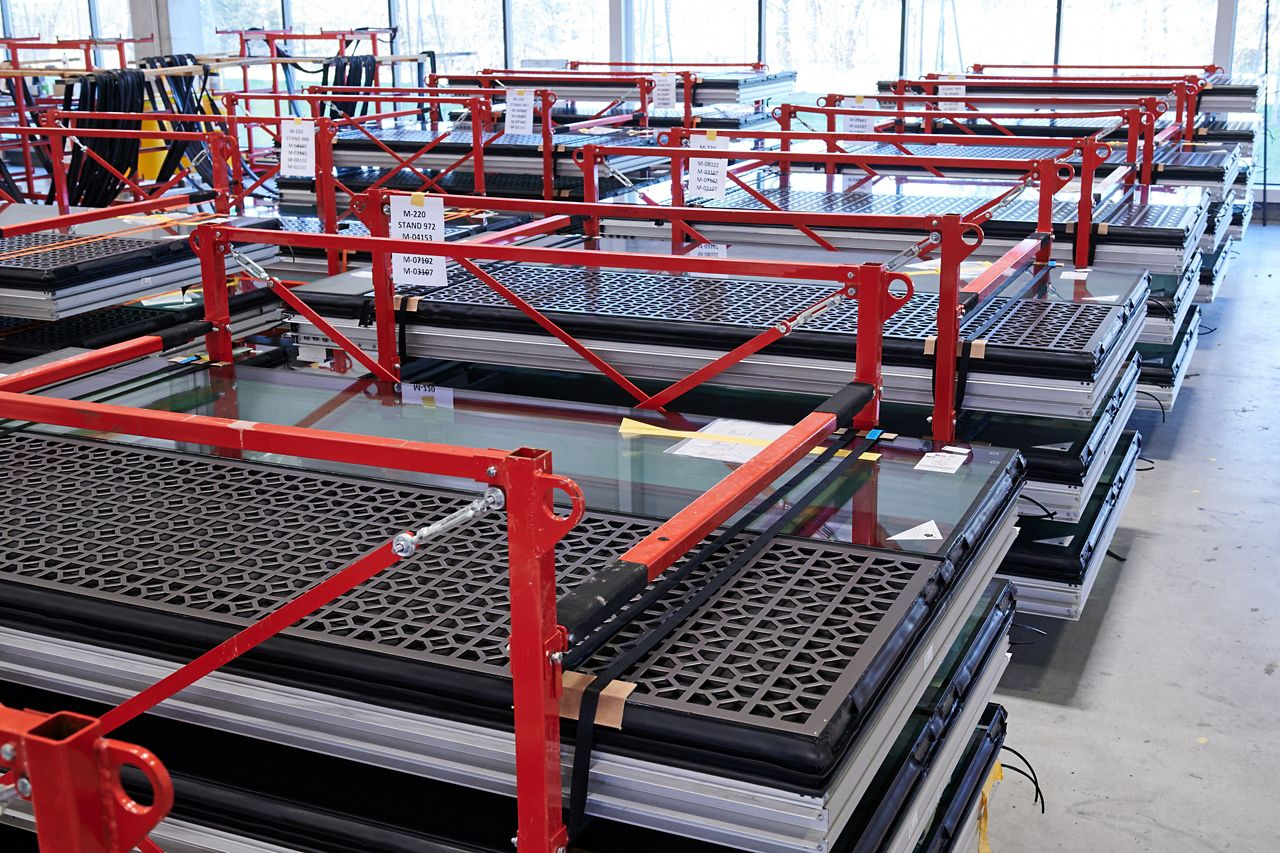 výroba modulů fasád