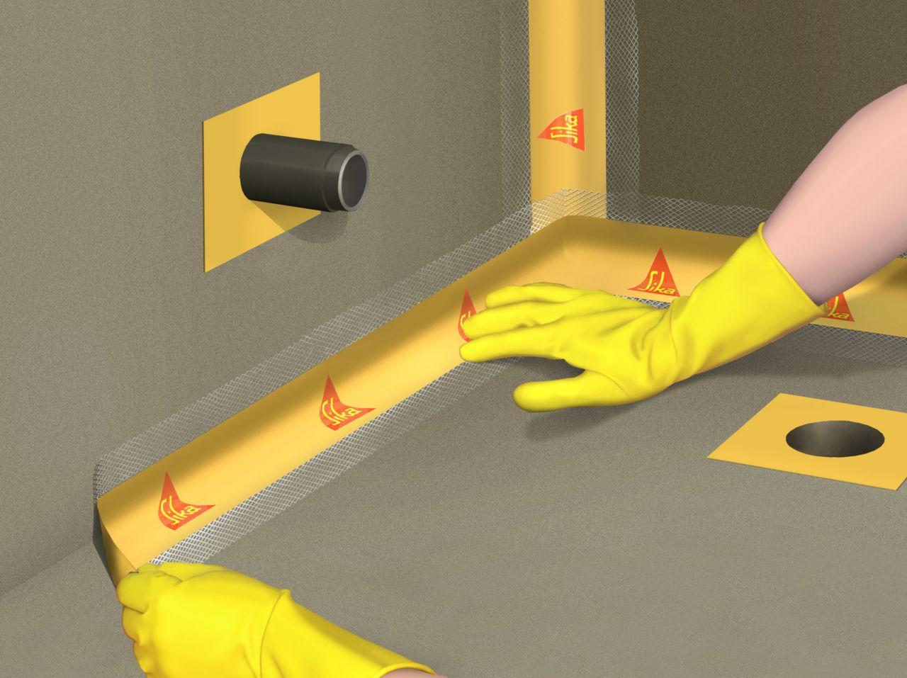 hydroizolace - těsnicí páska SealTape