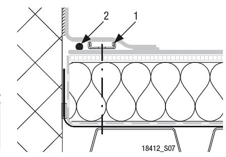 Sarnabar - kotvení k povrchu střechy