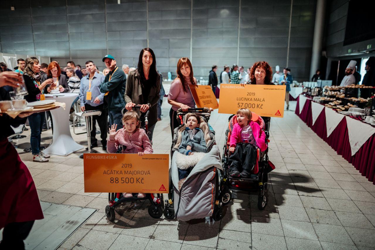 Přspěvky pro handicapované děti