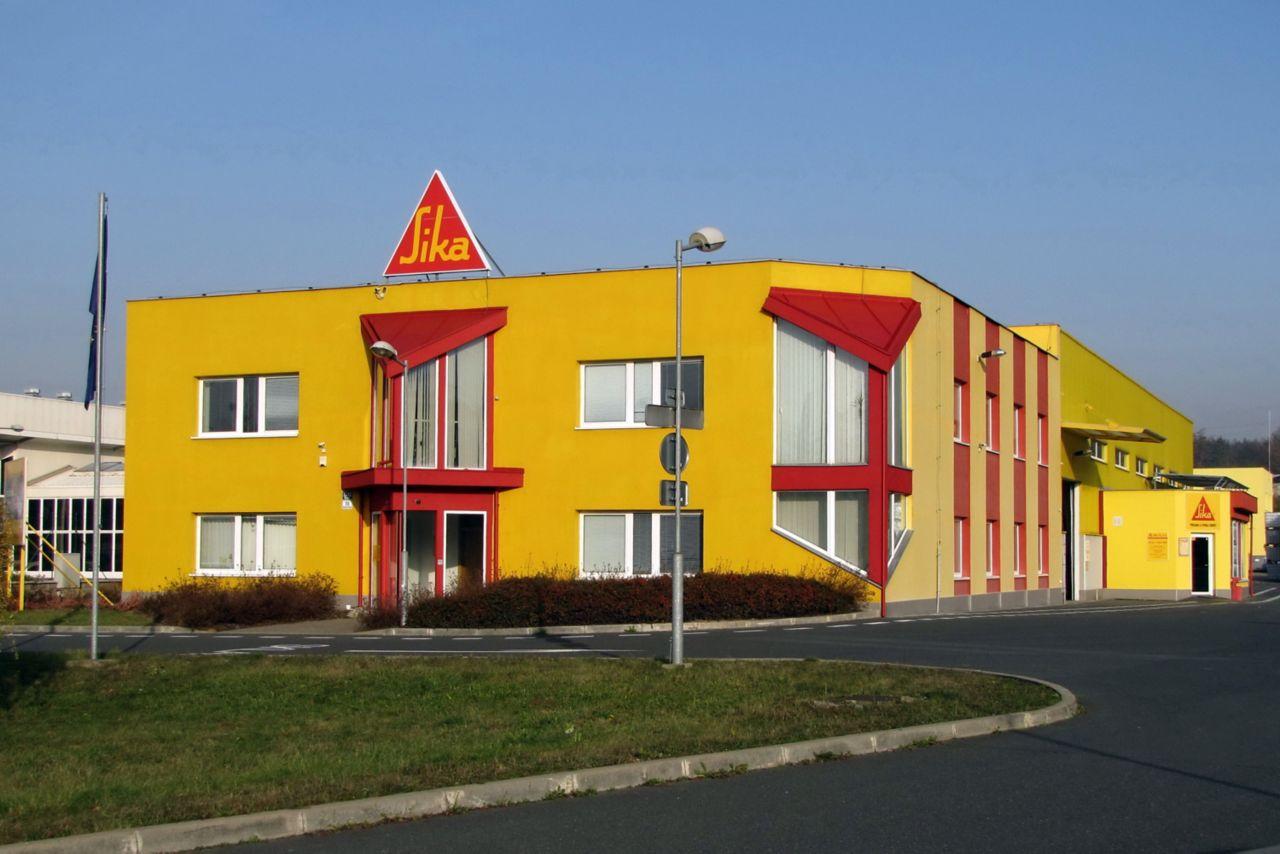 Sika budova kanceláře + STC, Brno Bystrcká