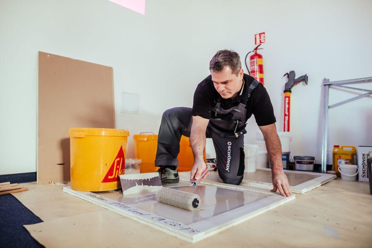 školení podlahy Sika