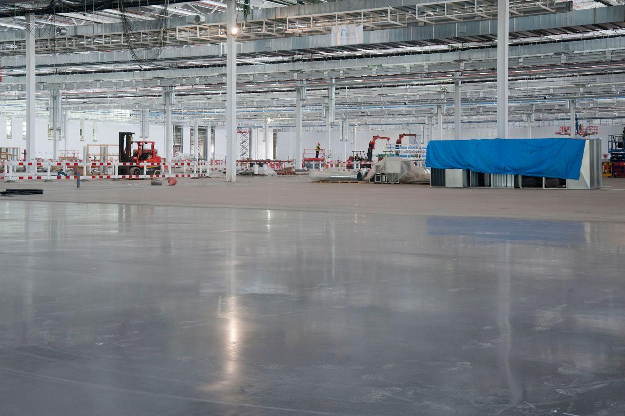 Sikafloor Purcem hos Skagen Fiskefabrik
