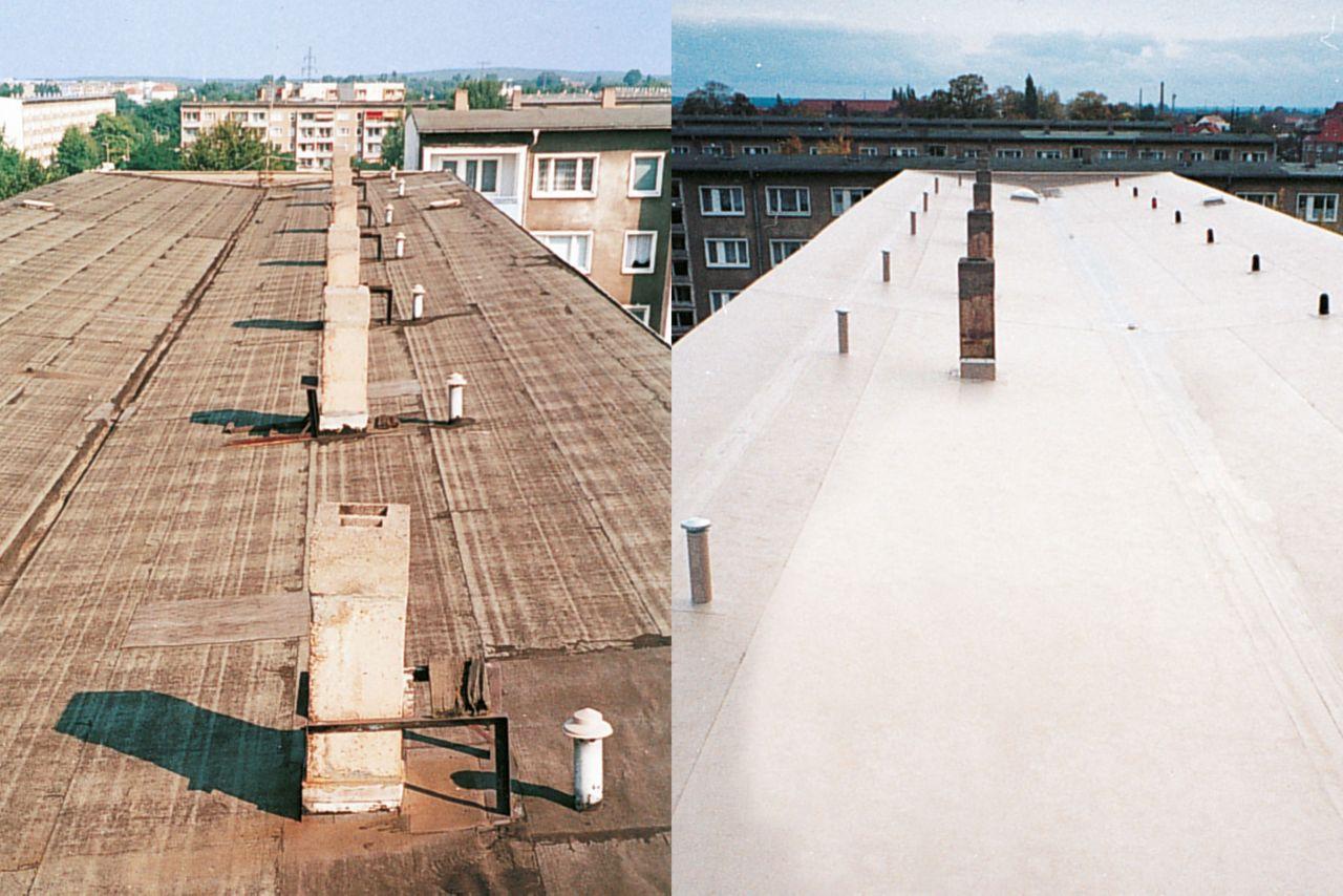 Roofing: Flachdachsanierung