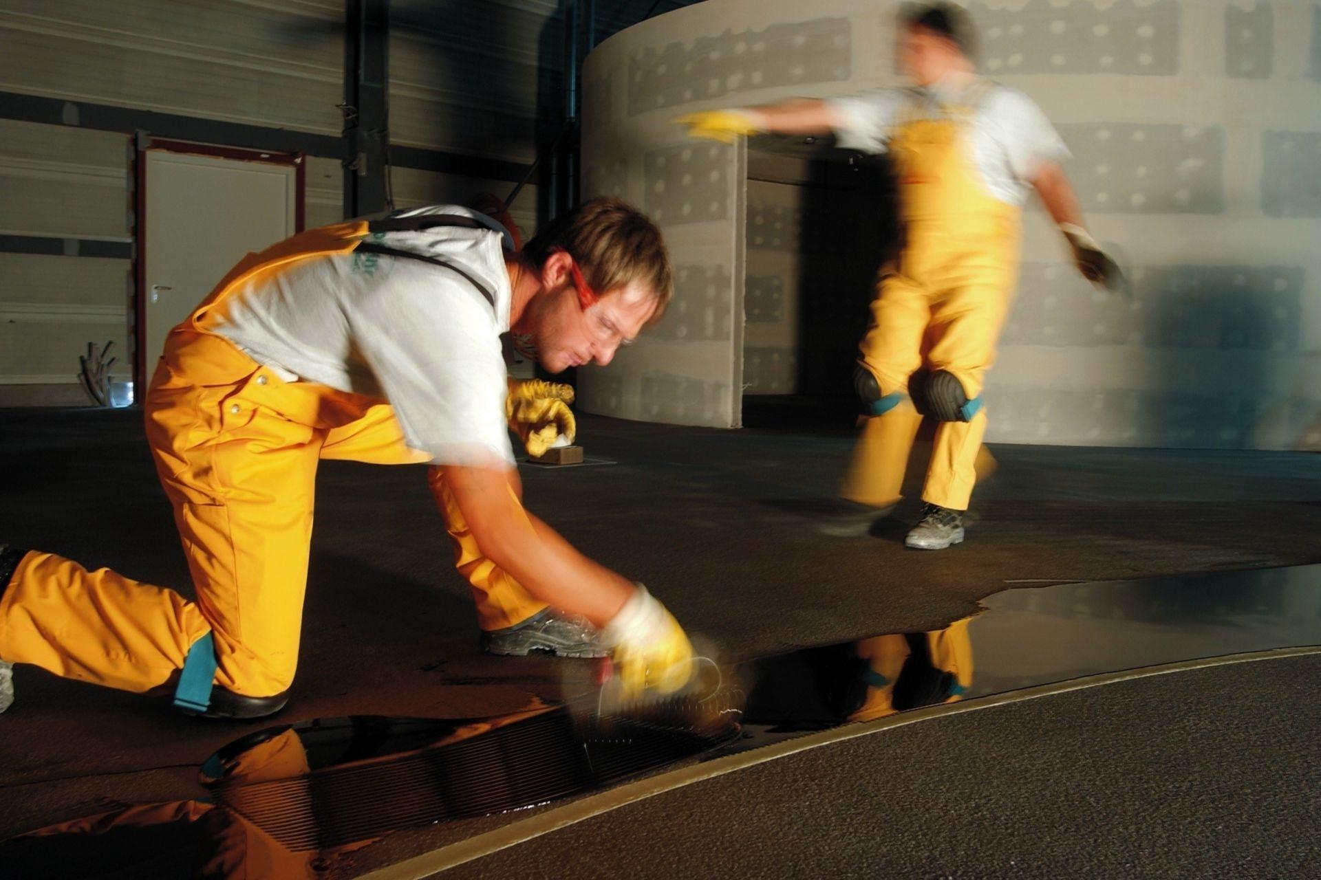 Flooring: Bullyversum in Geiselgasteig