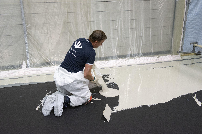 Flooring: ESA-Forschungszentrum Noordwijk