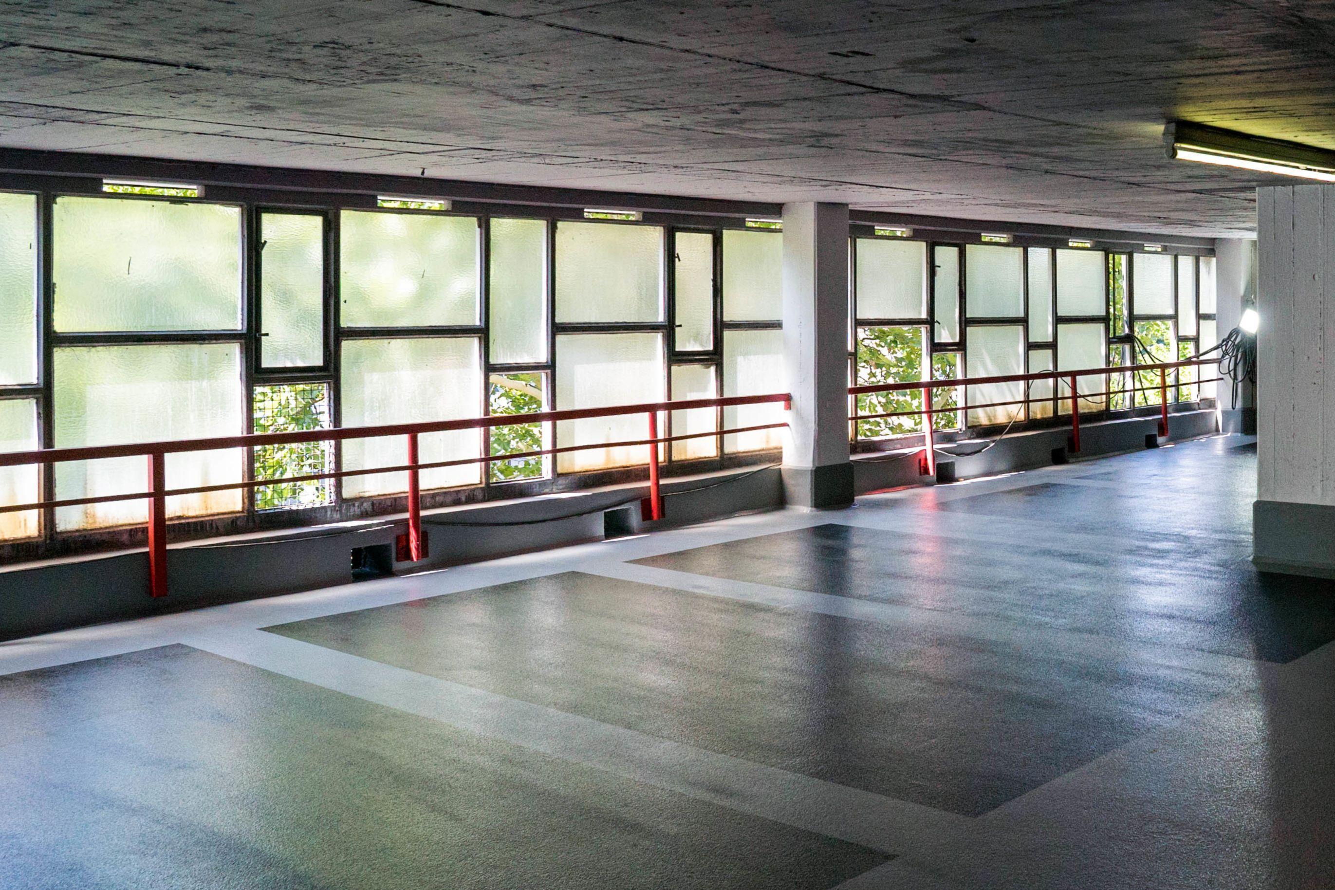 Flooring: Parkhaus Bielefeld