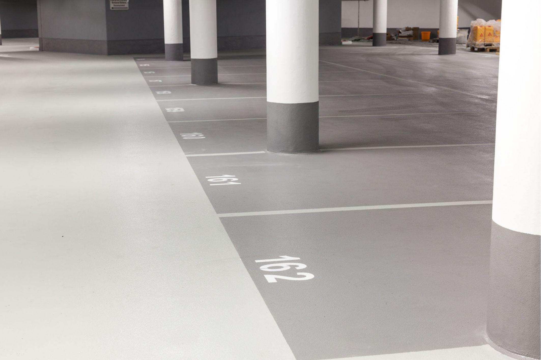 Flooring: Parkhaus Bornheim