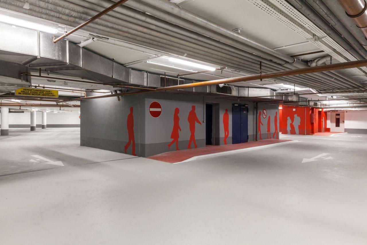 Parkbauten - OS nicht befahrene Fläche