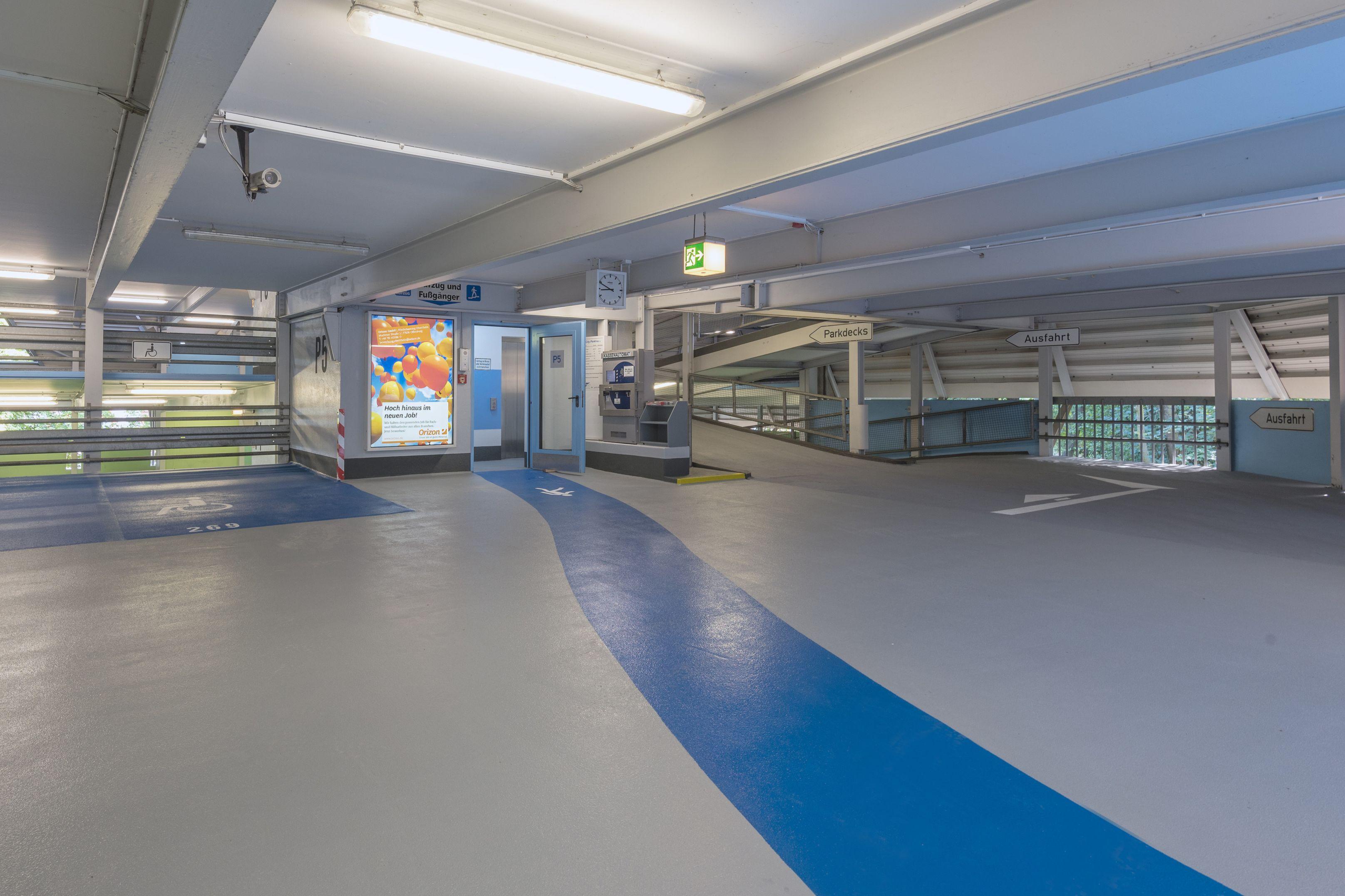 Flooring: Parkhaus Offenburg
