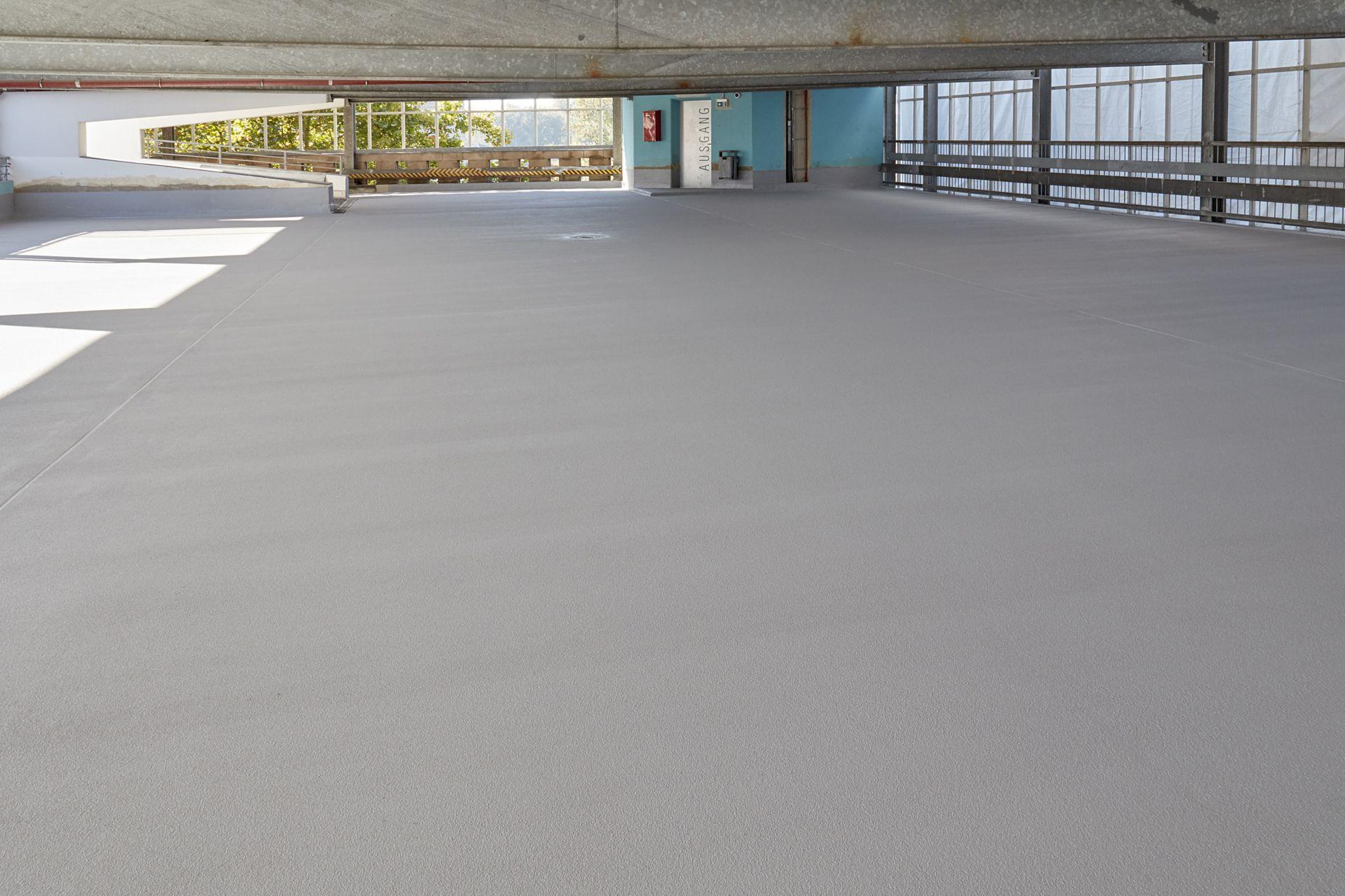 Flooring: Parkhaus Salzuflen