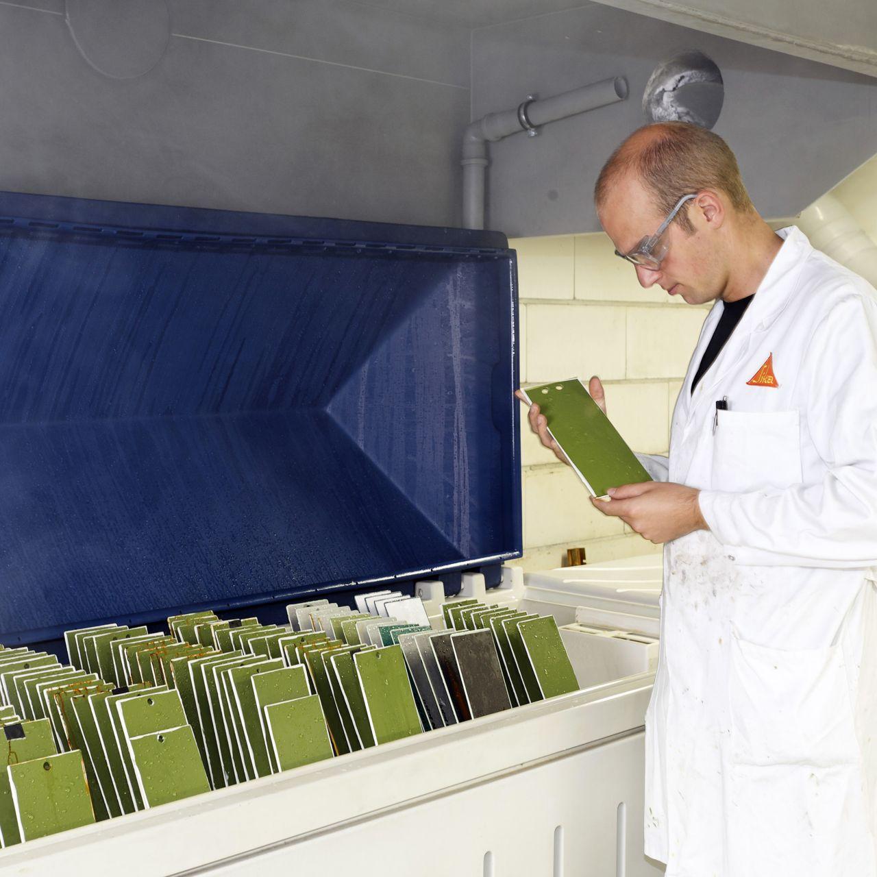 Industrial Coating: Sika Deutschland Labor Vaihingen Enz