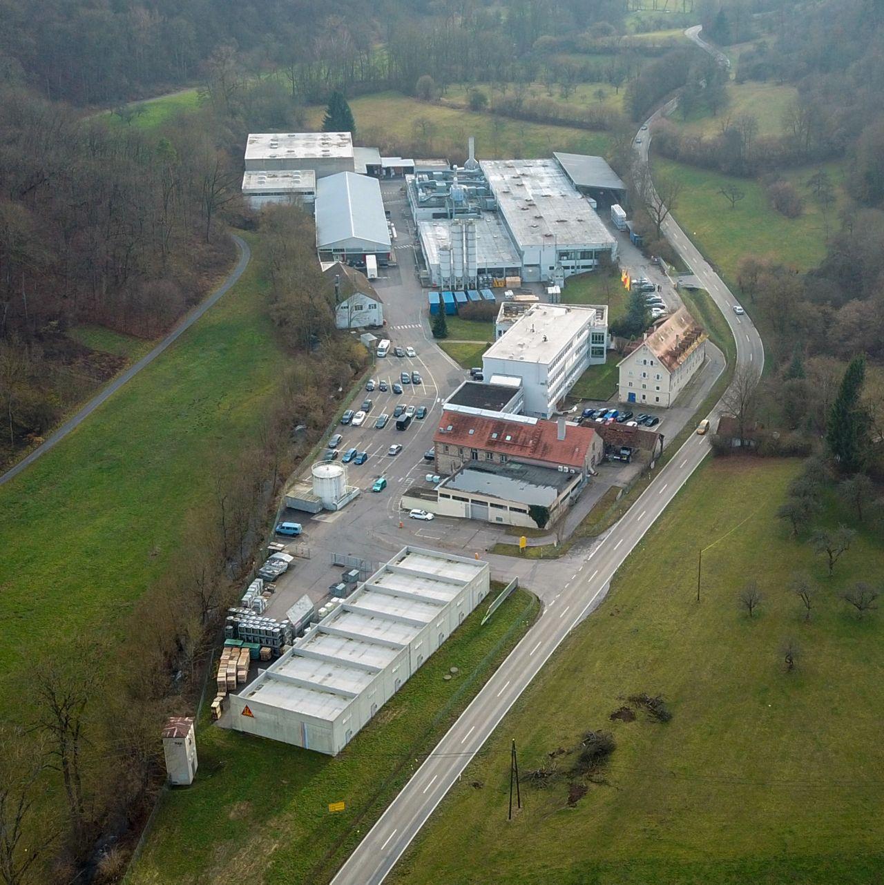 Sika Deutschland: Werk Vaihingen Enz