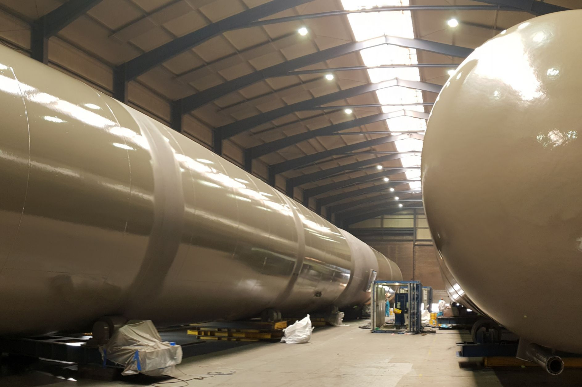 Industrial Coatings: Flüssiggasbehälter Barlage