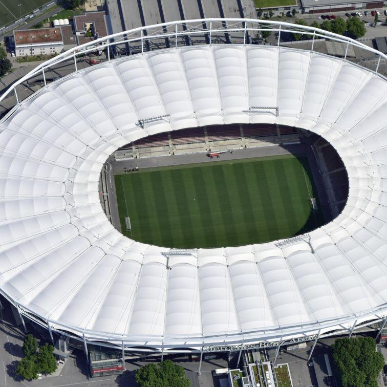 Industrial Coatings: Mercedes-Benz-Arena