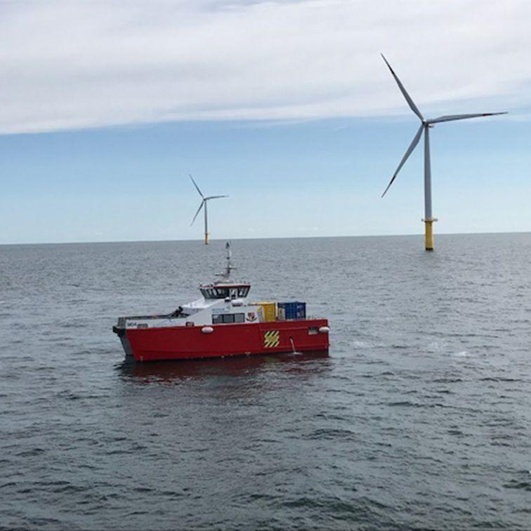 Industrial Coatings: Windpark Butendiek
