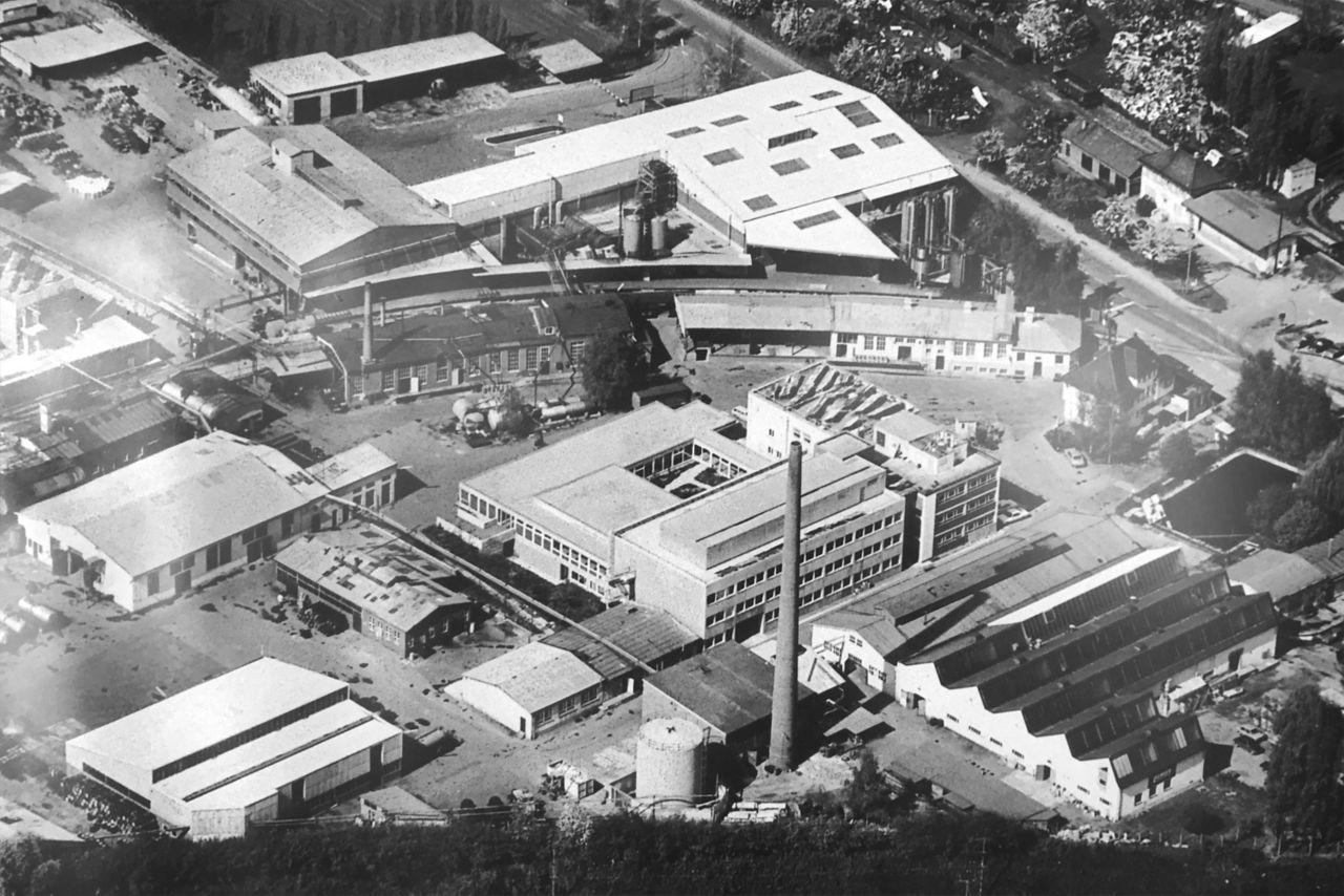 Gelände Lechler Chemie im 20. Jahrhundert