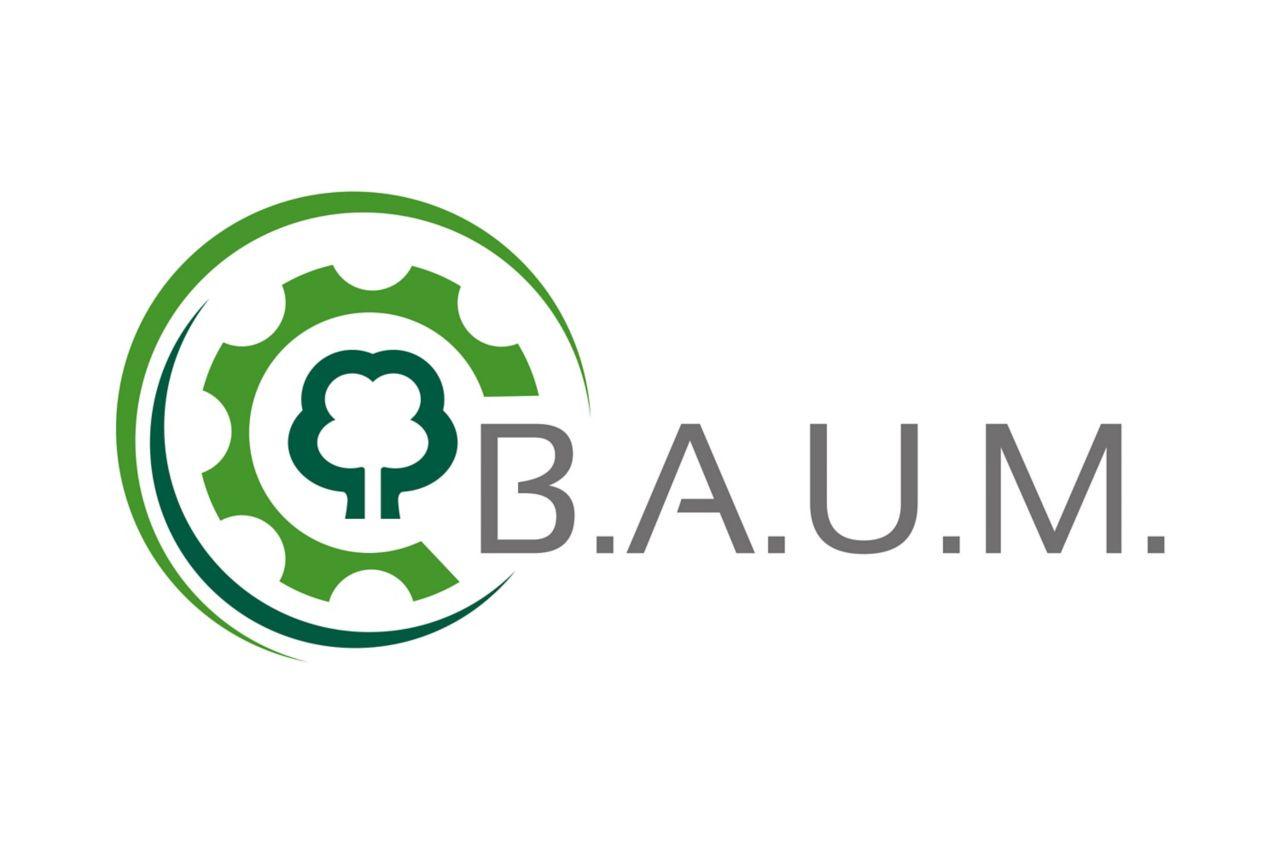 Logo Bundesdeutscher Arbeitskreis für Umweltbewusstes Management (B.A.U.M.) e.V.