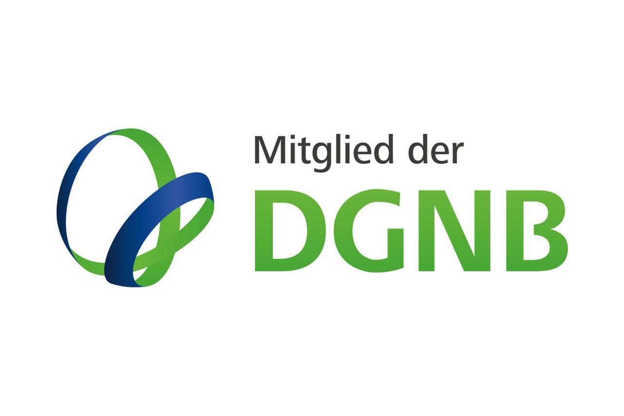 Logo Mitglied der DGNB
