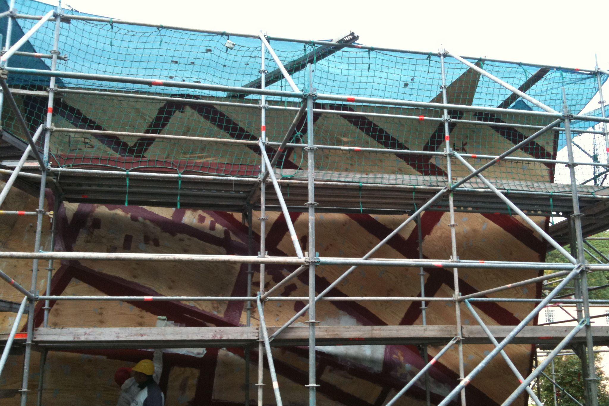 Roofing: Salz Simulatorgebäude