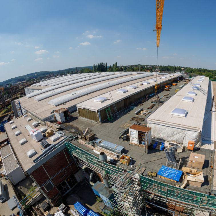 Roofing: Weichenwerk-Witten-Werk