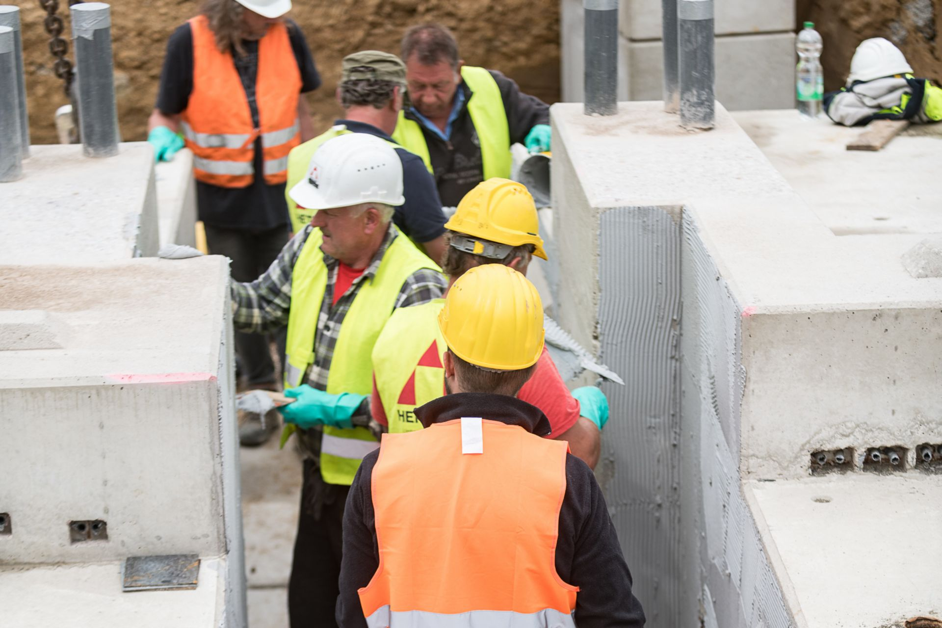 Waterproofing: Bausteinbrücke Hagen