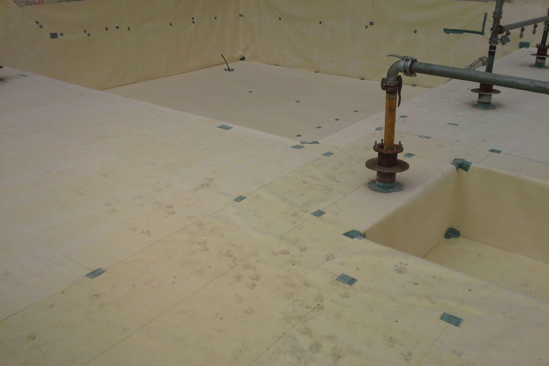 Waterproofing: Deutschlandhaus