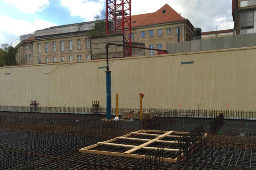 Waterproofing: Forschungszentrum Berlin