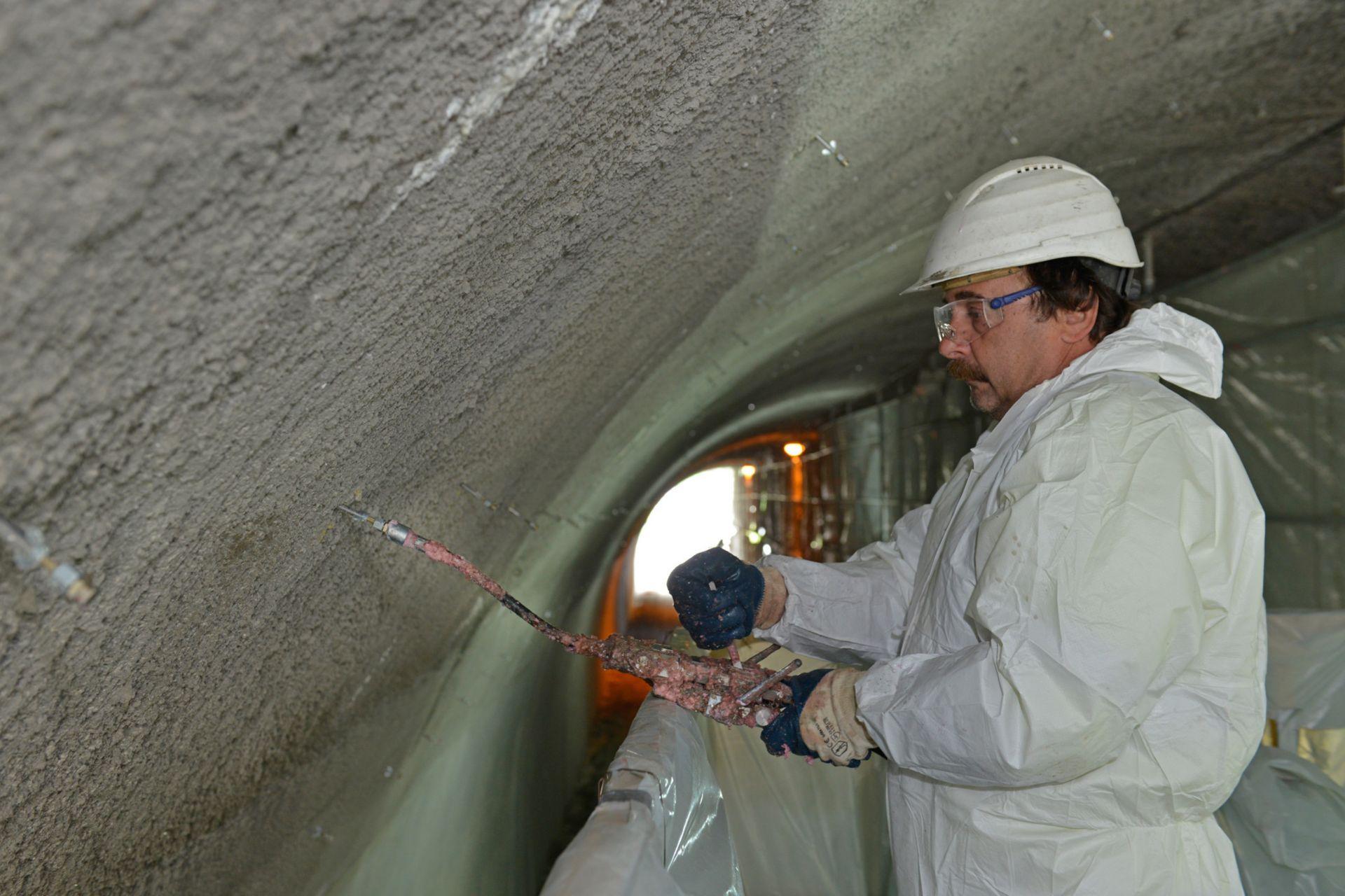 Waterproofing: Tunnel Spitzingsee