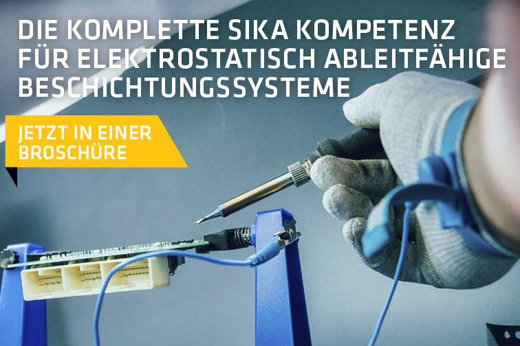 Die komplette Sika Kompetenz für elektrostatisch ableitfähige Beschichtungssysteme