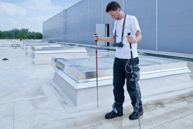 Sika Roof Control System Ortung