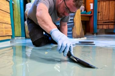 Handel Bau: Sika ComfortFloor Marble FX