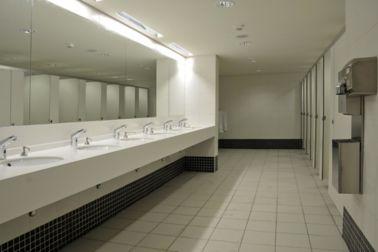 Bathroom of Enfidha Airport, Tunisia