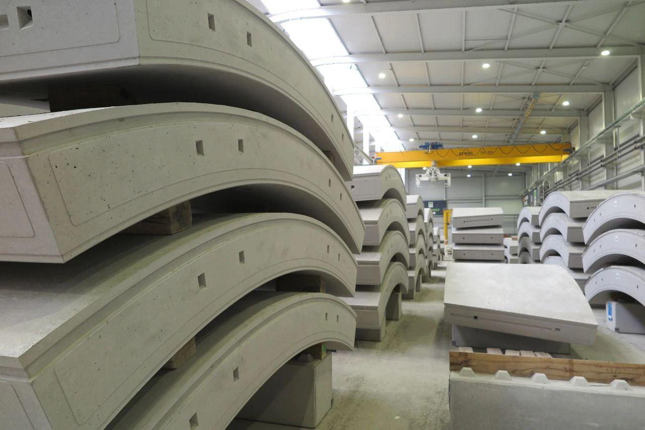 Industria de prefabricados de hormigón