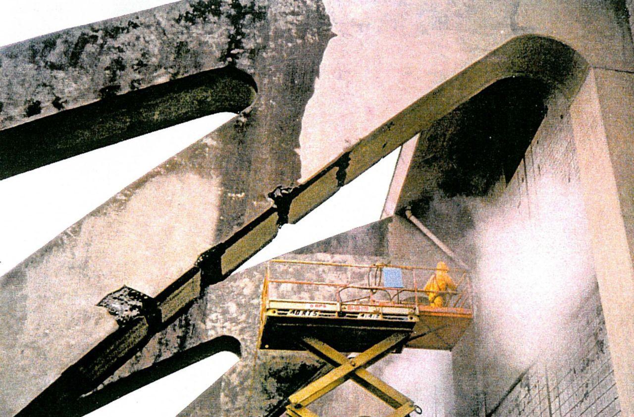 Renovación del Coliseo Cassell, Virginia, EE. UU. - Antes