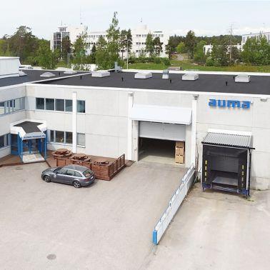 AUMA Finland Oy:n varastotilat