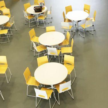 Sika Comfortfloor Pudasjärven hirsikoulu