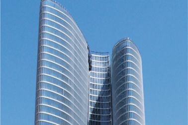 Facade Aida Building, Abu Dhabi, UAE