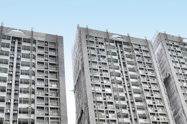 Sika is supporting the facade refurbishment of 19 blocks in Hong Kong