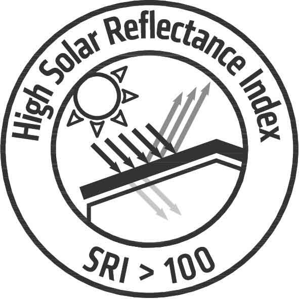High Solar Reflectance
