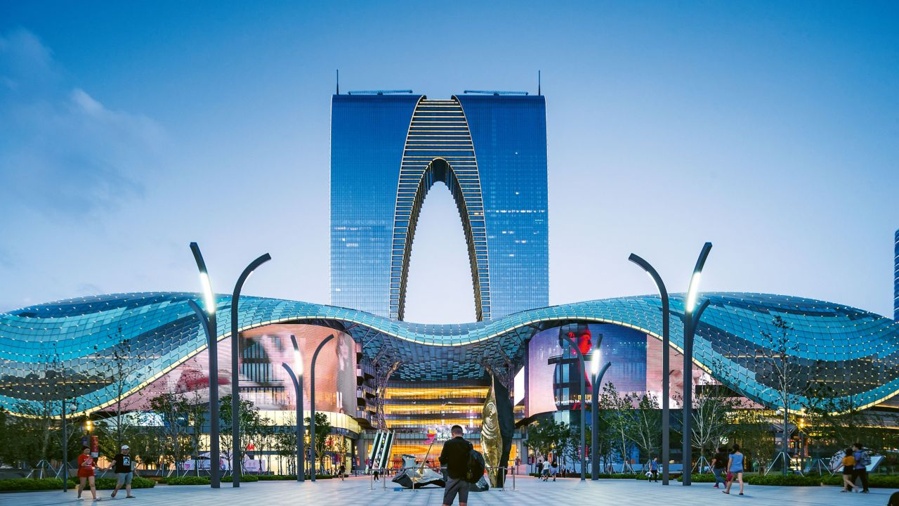 Suzhou Central Plaza in China