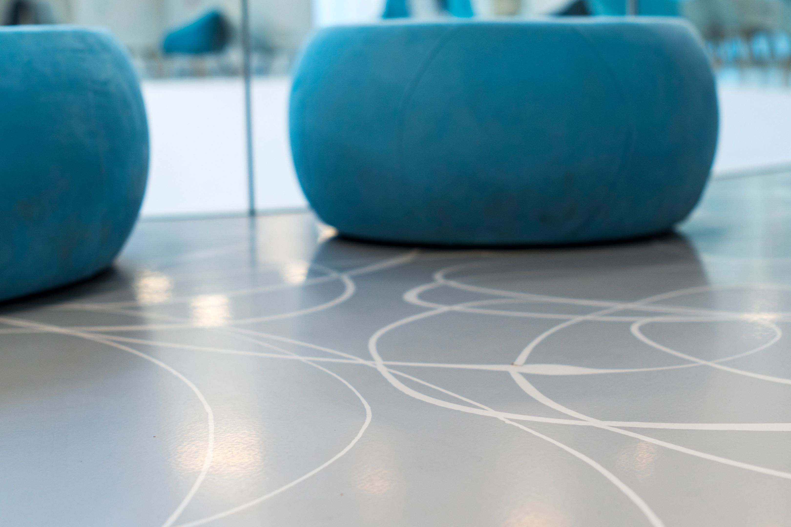 Sika® Comfortfloor® s a seamless, fluid-applied polyurethane floor system