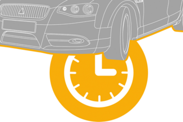 illustration of a  Aftermarket Car with Watch