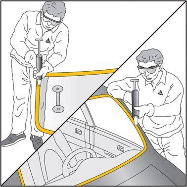 Windscreen installation process