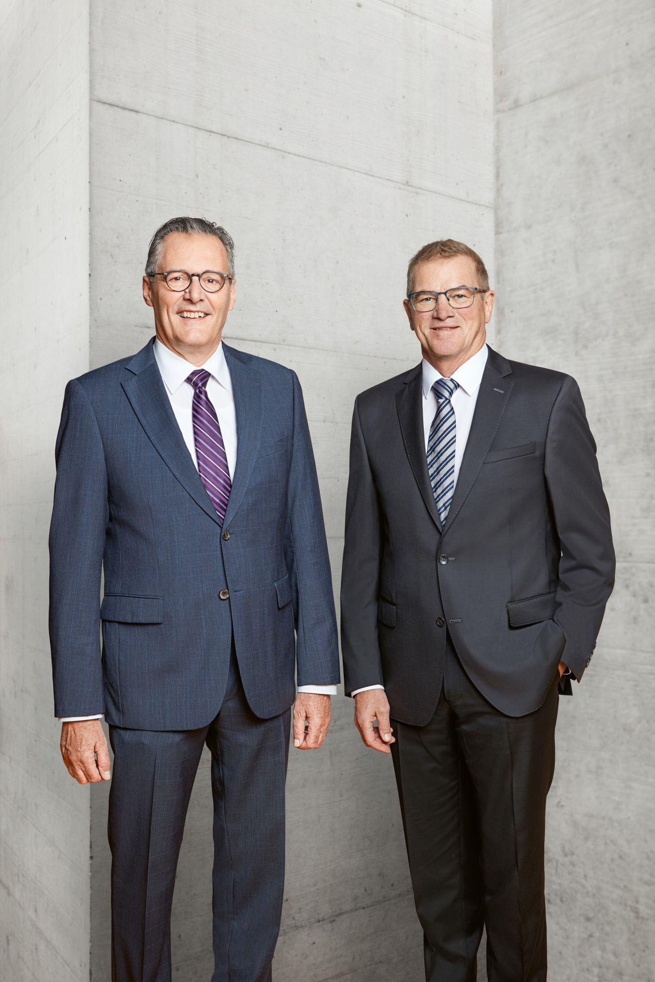 Chairman Paul Haelg and CEO Paul Schuler