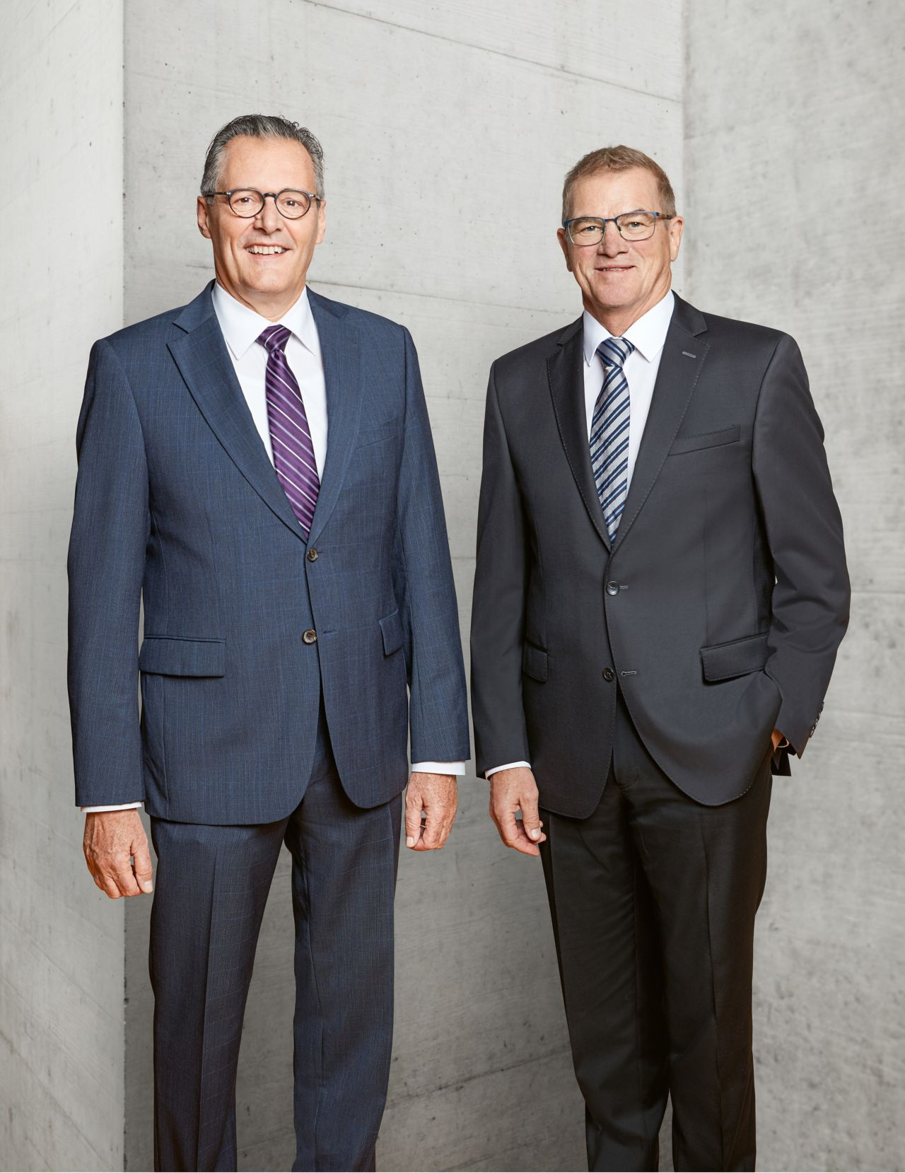 Dr. Paul J. Haelg, Chairman of the Board of Directors and Paul Schuler, CEO