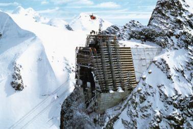 Cablecar terminus Klein-Matterhorn, Canton of Valais, Switzerland, 1979