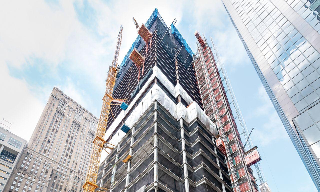 Skyscraper construction demands perfect concrete