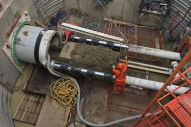 Sika Argentina tunneling TBM Buenos Aires